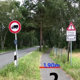 2019 07 08 Fuss Radweg 02