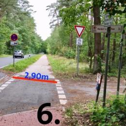 2019 07 08 Fuss Radweg 06