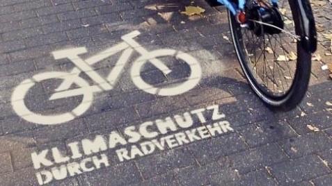 Klimaschutz durch Radverkehr