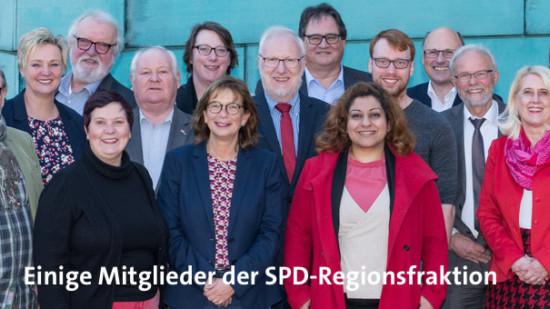 Mitglieder der SPD-Regionsfraktion