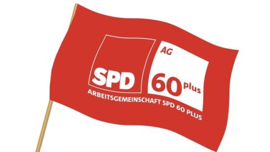 SPD 60plus Fahne
