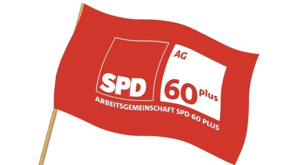 SPD 60plus Fahne