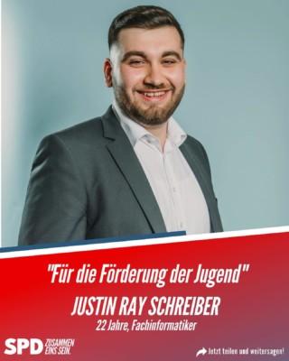 Justin Ray Schreiber