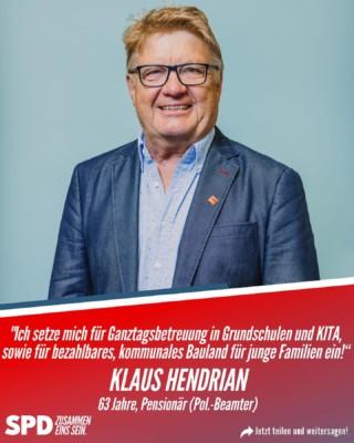 Klaus Hendrian
