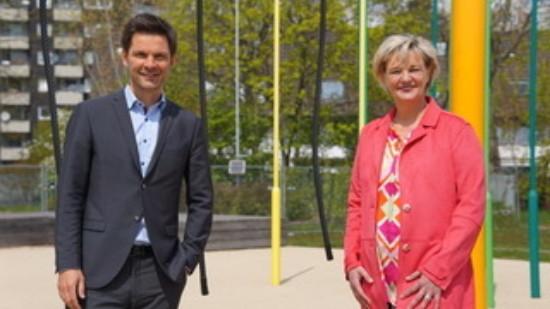 Steffen Krach und Christina Schlicker
