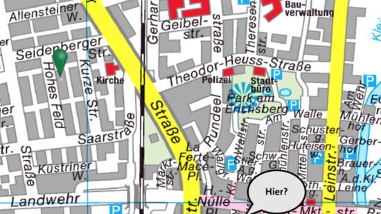 Rathaus-Standortwahl